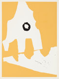 Fine Art - Work on Paper:Print, Robert Motherwell (American, 1915-1991). Untitled, from Ten Works by Ten Painters, 1964. Screenprint in colors with ...