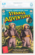 Golden Age (1938-1955):Science Fiction, Strange Adventures #1 (DC, 1950) CBCS Restored VG 4.0 Slight (P)Off-white to white pages....
