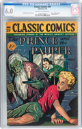 Golden Age (1938-1955):Classics Illustrated, Classic Comics #29 The Prince and the Pauper - First Edition(Gilberton, 1946) CGC FN 6.0 Off-white to white pages....