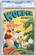Golden Age (1938-1955):Science Fiction, Wonder Comics #18 (Better Publications, 1948) CGC FN+ 6.5 Off-whitepages....