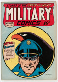 Golden Age (1938-1955):War, Military Comics #31 (Quality, 1944) Condition: VF....