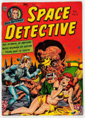 Golden Age (1938-1955):Science Fiction, Space Detective #3 (Avon, 1952) Condition: VG....