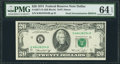 Error Notes:Double Denominations, Fr. 2071-K $20/$10 1974 Double Denomination Federal Reserve Note. PMG Choice Uncirculated 64 EPQ.. ...
