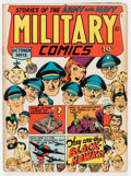 Golden Age (1938-1955):War, Military Comics #12 (Quality, 1942) Condition: FN-....