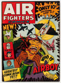 Golden Age (1938-1955):Adventure, Air Fighters Comics #2 (Hillman Fall, 1942) Condition: Apparent VG+....