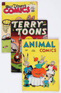 Golden Age (1938-1955):Funny Animal, Comic Books - Assorted Golden Age Funny Animal Comics Group of 3(Various Publishers, 1943-48) Condition: Average GD/VG.... (Total:3 Comic Books)