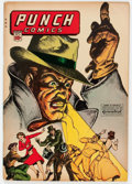 Golden Age (1938-1955):Superhero, Punch Comics #10 (Chesler, 1944) Condition: FN....