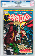 Bronze Age (1970-1979):Horror, Tomb of Dracula #10 (Marvel, 1973) CGC VF 8.0 White pages....