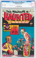 Golden Age (1938-1955):Horror, This Magazine Is Haunted #7 File Copy (Fawcett Publications, 1952)CGC VF- 7.5 Cream to off-white pages....