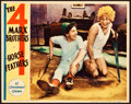 "Movie Posters:Comedy, Horse Feathers (Paramount, 1932). Lobby Card (11"" X 14"").. ..."