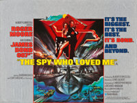 "The Spy Who Loved Me (United Artists, 1977). British Quad (30"" X 40"")"