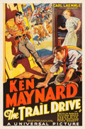 "Movie Posters:Western, The Trail Drive (Universal, 1933). One Sheet (27"" X 41"").. ..."