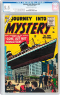 Silver Age (1956-1969):Horror, Journey Into Mystery #23 (Atlas, 1955) CGC FN- 5.5 Cream tooff-white pages....