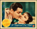 "Movie Posters:Academy Award Winners, It Happened One Night (Columbia, 1934). Lobby Card (11"" X 14"")....."