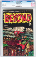Golden Age (1938-1955):Horror, The Beyond #13 (Ace, 1952) CGC VF+ 8.5 Off-white pages....