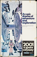 """Movie Posters:Science Fiction, 2001: A Space Odyssey (MGM, 1968). One Sheet (27"""" X 41"""") Cinerama Style C. Science Fiction.. ..."""