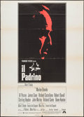 "Movie Posters:Crime, The Godfather (Paramount, 1972). Italian 2 - Foglio (39.25"" X 55"").Crime.. ..."