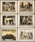 """Movie Posters:Foreign, Moon of Israel (Paramount, 1924). Title Lobby Card & Lobby Cards (5) (11"""" X 14""""). Foreign.. ... (Total: 6 Items)"""