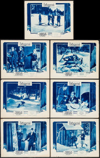 """Snowed In (Pathé, 1926). Lobby Cards (7) (11"""" X 14""""). Serial. ... (Total: 7 Items)"""