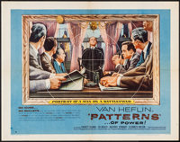 "Patterns (United Artists, 1956). Half Sheet (22"" X 28"") Style B. Drama"