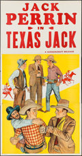 "Movie Posters:Western, Texas Jack (Screencraft, R-1930s). Three Sheet (41"" X 78"").Western.. ..."