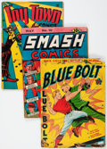 Golden Age (1938-1955):Miscellaneous, Comic Books - Assorted Golden Age Comics Group of 28 (Various Publishers, 1939-48) Condition: Average FR.... (Total: 28 Comic Books)