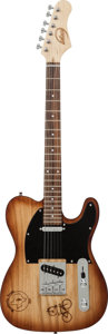 Musical Instruments:Electric Guitars, Telecaster Copy Handcrafted Guitar Proceeds Benefit the AustinDisaster Relief Network...