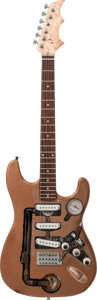 Musical Instruments:Acoustic Guitars, Strat Copy Steam Punk Handcrafted Guitar Proceeds Benefit the Austin Disaster Relief Network...