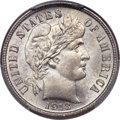 Barber Dimes, 1913-S 10C MS67 PCGS. CAC....