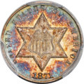 Three Cent Silver, 1871 3CS MS67 PCGS....