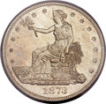 Trade Dollars, 1873-CC T$1 MS61 PCGS....