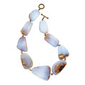 Estate Jewelry:Necklaces, Chalcedony, Base Metal Necklace, Stephen Dweck. ...