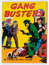 Four Color (Series One) #7 Gang Busters (Dell, 1940) Condition: VG+