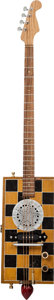 Musical Instruments:Acoustic Guitars, Cigar Box Checker Board Handcrafted Guitar Proceeds Benefit theAustin Disaster Relief Network. ...