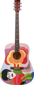 Musical Instruments:Acoustic Guitars, Acoustic Kit John Lennon Handcrafted Guitar Proceeds Benefit theAustin Disaster Relief Network. ...
