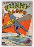 Golden Age (1938-1955):Superhero, Funny Pages #39 (Centaur, 1940) Condition: GD/VG....