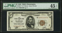Fr. 1850-C* $5 1929 Federal Reserve Bank Note. PMG Choice Extremely Fine 45 EPQ