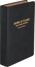 Books:Science Fiction & Fantasy, Stanley G. Weinbaum. Dawn of Flame and Other Stories. [Jamaica, N.Y., Rupert Printing Service, 1936]. First edition...
