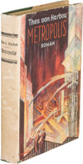 Books:Science Fiction & Fantasy, Thea von Harbou. Metropolis. Berlin: August Scherl, [1926]. German-language movie tie-in edition issued to coincide ... (Total: 2 Items)