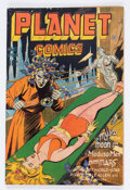 Golden Age (1938-1955):Science Fiction, Planet Comics #41 (Fiction House, 1946) Condition: VG-....