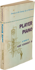 Books:Science Fiction & Fantasy, Kurt Vonnegut, Jr. Player Piano. New York: Charles Scribner's Sons, 1952. First edition, advance copy. One of ap...