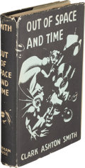 Books:Horror & Supernatural, Clark Ashton Smith. Out of Space and Time. Sauk City: Arkham House, 1942. First edition, one of 1,054 copies printed...