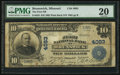 National Bank Notes:Missouri, Brunswick, MO - $10 1902 Plain Back Fr. 626 The First NB Ch. #4083. ...