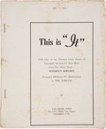 """Books:Horror & Supernatural, Theodore Sturgeon. This is """"It"""". Only One of the Thirteen Great Stories in Theodore Sturgeon's New Book from The P..."""