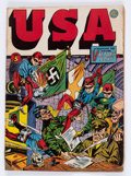 Golden Age (1938-1955):Superhero, USA Comics #5 (Timely, 1942) Condition: GD+....