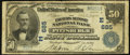National Bank Notes:Pennsylvania, Pittsburgh, PA - $50 1902 Date Back Fr. 667 The Farmers Deposit NBCh. # (E)685. ...