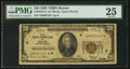 Fr. 1870-A* $20 1929 Federal Reserve Bank Note. PMG Very Fine 25