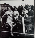 Miscellaneous Collectibles:General, Roger Bannister Signed Calendar Clipping Photograph....