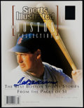 Baseball Collectibles:Publications, Ted Williams Signed Sports Illustrated Tribute Magazine....