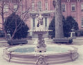Photographs:Chromogenic, Stephen Shore (American, b. 1947). Fountain, Frederick CountyCourthouse, Frederick, Maryland, 1976. Color coupler. 11-7...